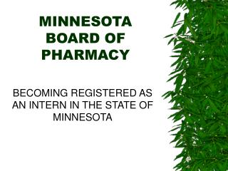 MINNESOTA BOARD OF PHARMACY