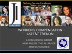 workers  compensation  latest trends: