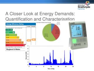 A Closer Look at Energy Demands: Quantification and Characterisation