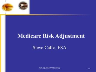 medicare risk adjustment
