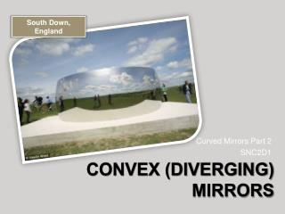 Convex diverging Mirrors