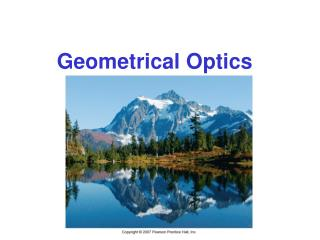 Geometrical Optics