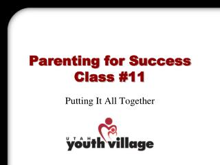 Parenting for Success Class 11