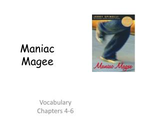 Vocabulary  Chapters 4-6