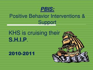 PBIS: Positive Behavior Interventions  Support