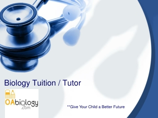 Biology Tuition