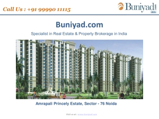 Amrapali princely Estate premium apartment