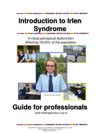 Introduction to Irlen  Syndrome