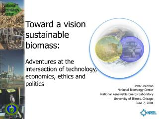 Toward a vision of  sustainable biomass: