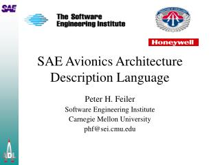 sae avionics architecture description language