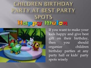Birthday Party Supplies Hong Kong