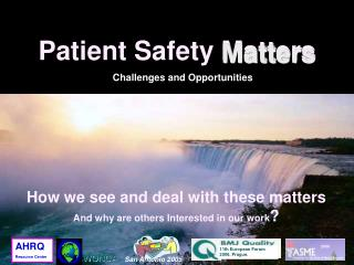 Patient Safety Matters