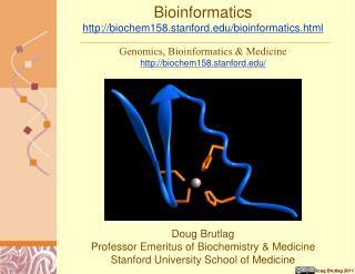 Bioinformatics  biochem158.stanford