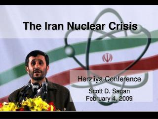 The Iran Nuclear Crisis