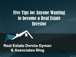 Real Estate Dorota Dyman