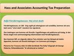 Hass and Associates Accounting Tax Preparation Adj� F�rs�kri