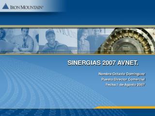 SINERGIAS 2007 AVNET.