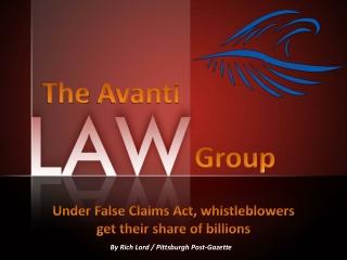 The Avanti Law Group: Under False Claims Act
