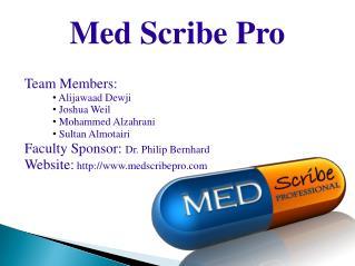 Med Scribe Pro