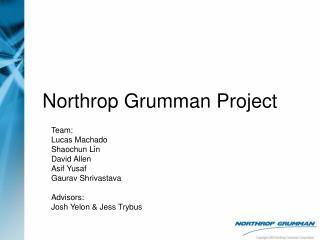Northrop Grumman Project
