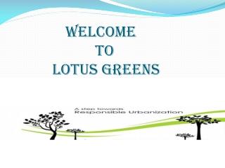 Lotus Greens residential flats Noida Expressway