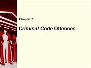 Criminal Code Offences