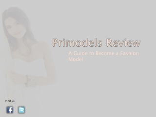 Primodels Review-A Guide to Become a Fashion Model