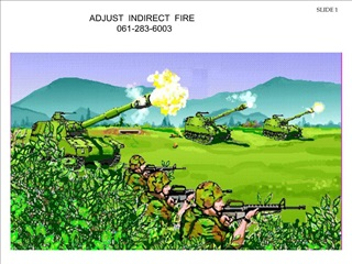 adjust  indirect  fire                     061-283-6003