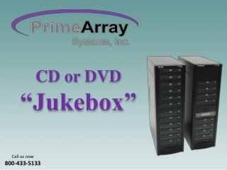 PrimeArray - CD or DVD Jukebox