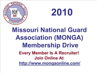 missouri national guard association monga  membership drive