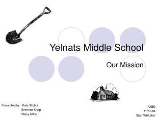 Yelnats Middle School