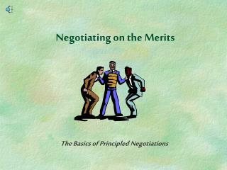 Negotiating on the Merits