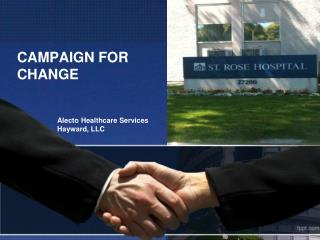 CAMPAIGN FOR CHANGE