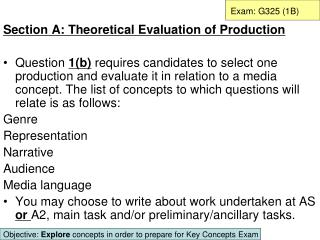 Exam: G325 1B