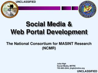 Social Media   Web Portal Development