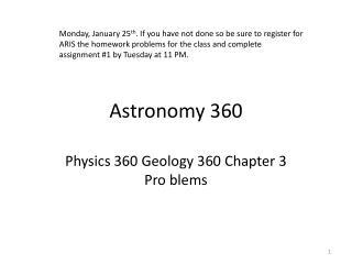 Astronomy 360
