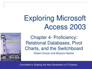 exploring microsoft excel  2000   2003
