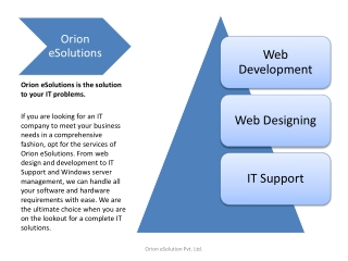 Web Development company India