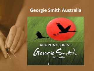 Georgie Smith - Acupuncturist