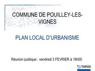 COMMUNE DE POUILLEY-LES-VIGNES