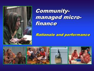 Community-managed micro-finance