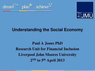 Understanding the Social Economy