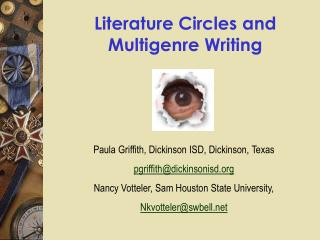 literature circles and multigenre writing
