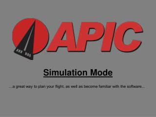 Simulation Mode