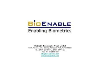 BioEnable Technologies Private Limited C4