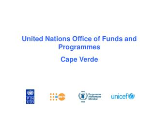 United Nations Office of Funds and Programmes  Cape Verde