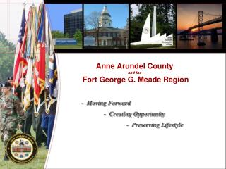 anne arundel county  and the  fort george g. meade region