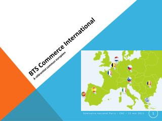 BTS Commerce International   r f rentiel commun europ en