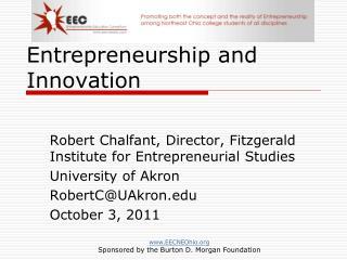 Entrepreneurship and Innovation