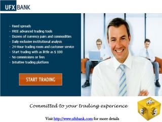 Forex Trading with UFX Bank